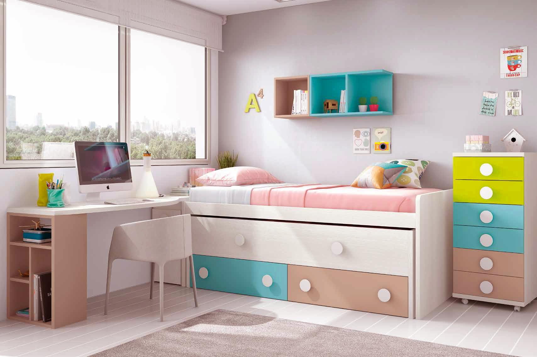 Chambre Ado Design Avec Lit Surlev Color Et Fun