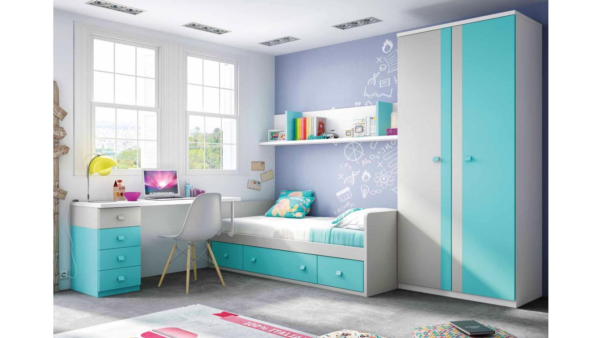chambre enfant garcon avec lit canape personnalisable f158 glicerio