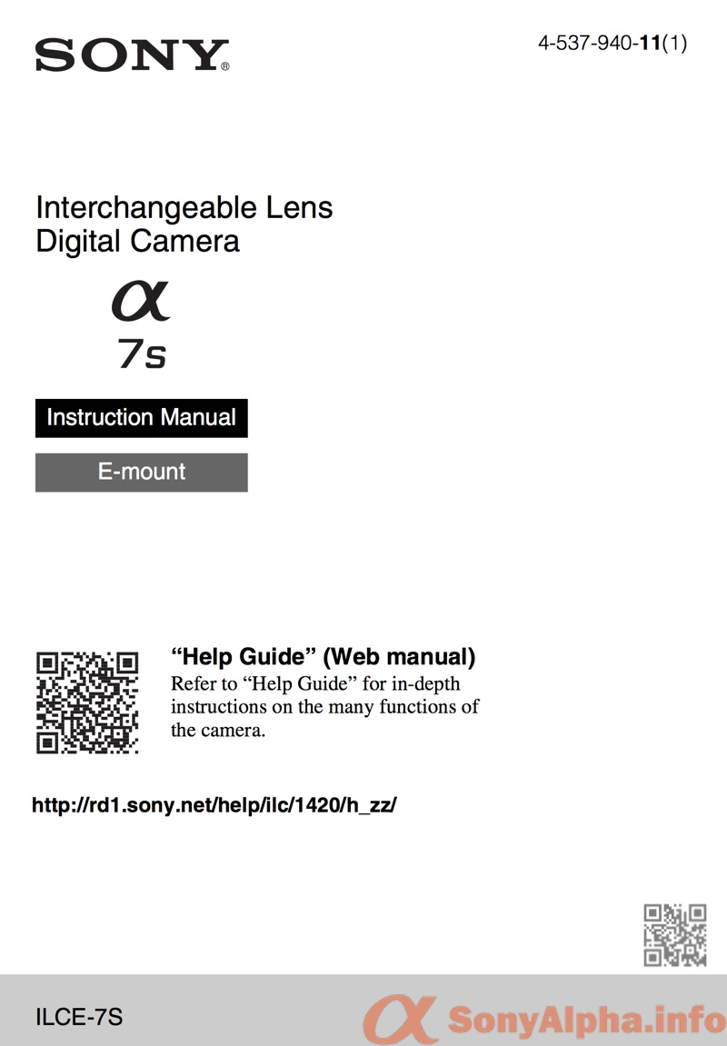 sony alpha a7s user guide download sony alpha dslr information hub rh sonyalpha info Wildgame Innovations Manuals Bissell PowerSteamer User Manual