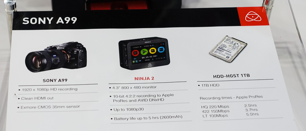 Atomos Ninja 2 Video Recorder