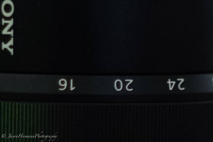 100% Crop - Sony a7II - Steadyshot Test - MC 50mm f/1.4 @ 1/4 second