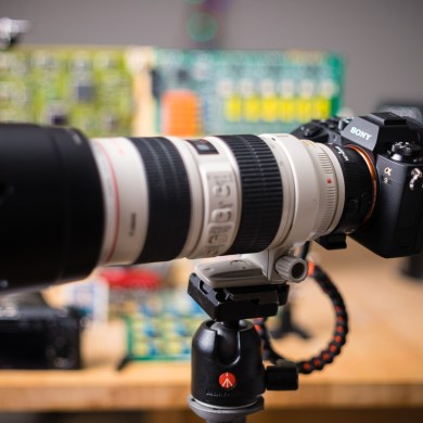 Sony A9 and Canon Lens Testing