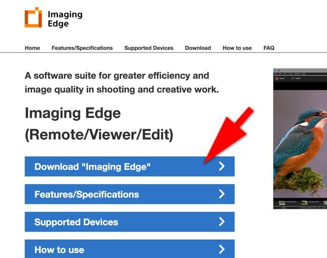 imaging edge download