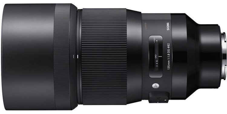 Sigma 135mm f/1.4 DG HSM Art Lens