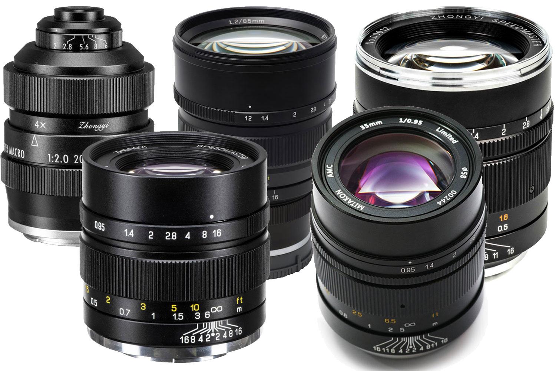 Mitakon Zhongyi E-Mount Lens Guide