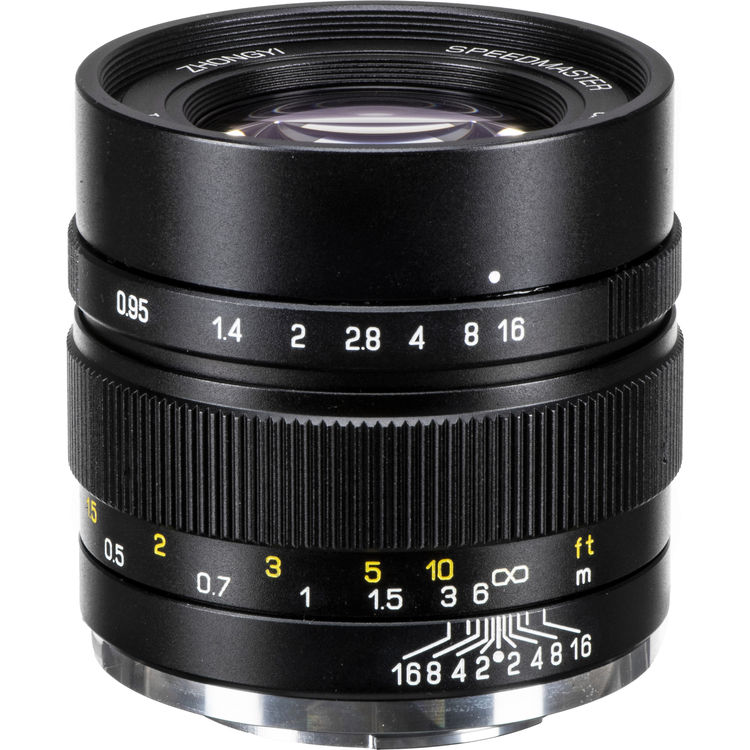 Mitakon Zhongyi Speedmaster 35mm f/0.95 Mark II Lens