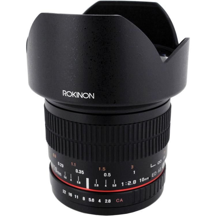 Rokinon 10mm f/2.8 ED AS NCS CS Lens