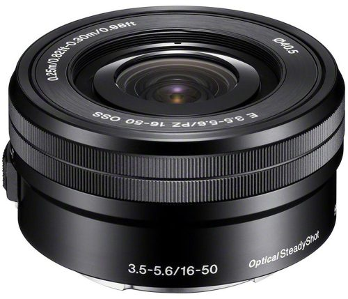 Sony E Powerzoom 16-50mm f/3.5-5.6 OSS Lens