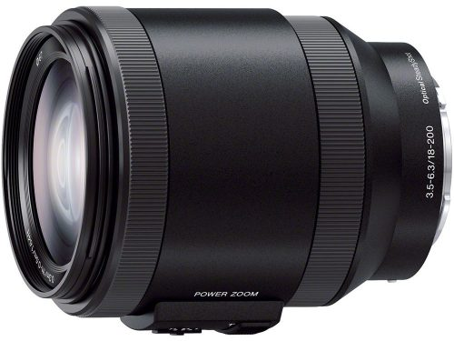 Sony E Powerzoom 18-200mm f/3.5-6.3 OSS Lens