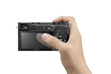 Sony touch focus a6400
