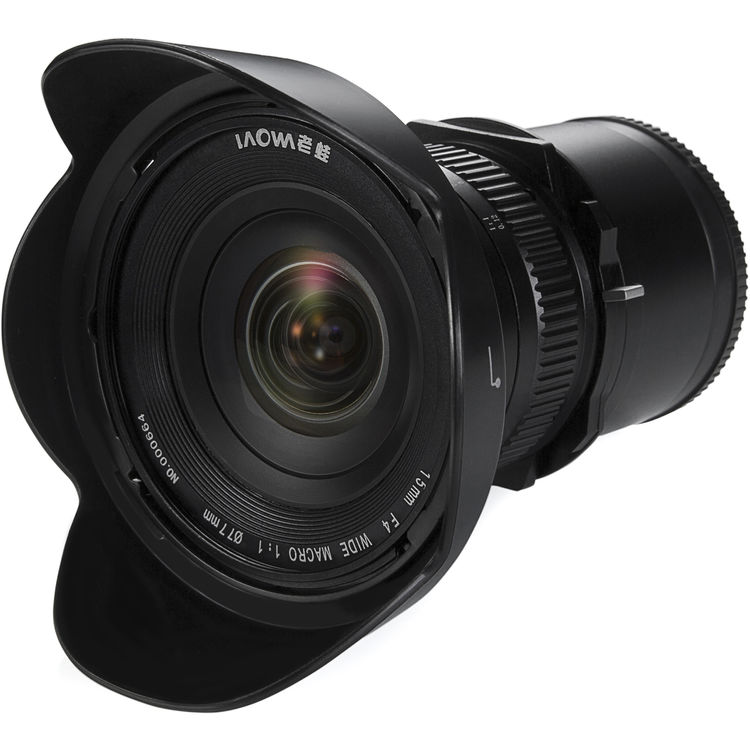 Venus Optics Laowa 15mm f/4 Macro Lens