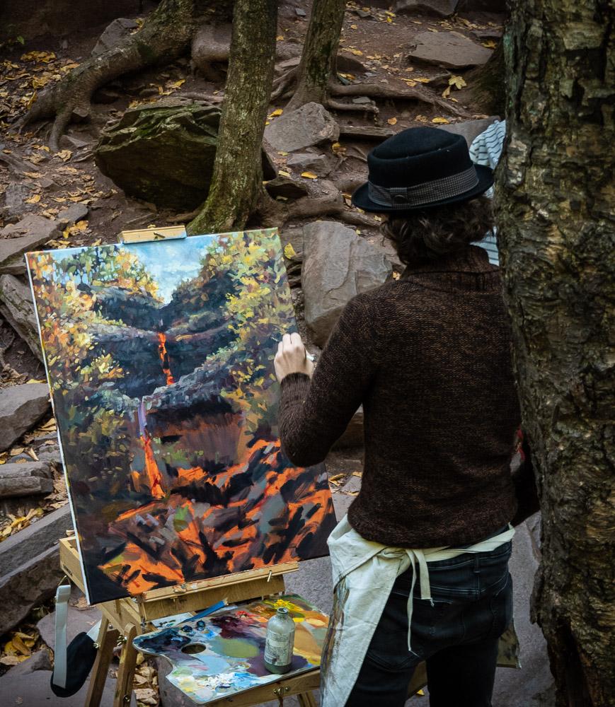 Kaaterskill Falls - Artist