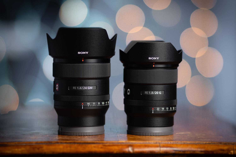 Sony FE 20mm f/1.8 G lens Vs FE 24mm f/1.4 GM Lens - Lab Testing...