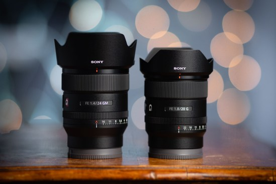 Sony FE 20mm f/1.8 G lens Vs FE 24mm f/1.4 GM Lens - Lab Testing...