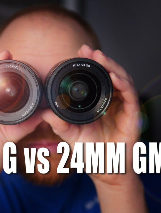 Sony FE 20mm f/1.8 G lens Vs FE 24mm F/1.4 GM Lens - Review