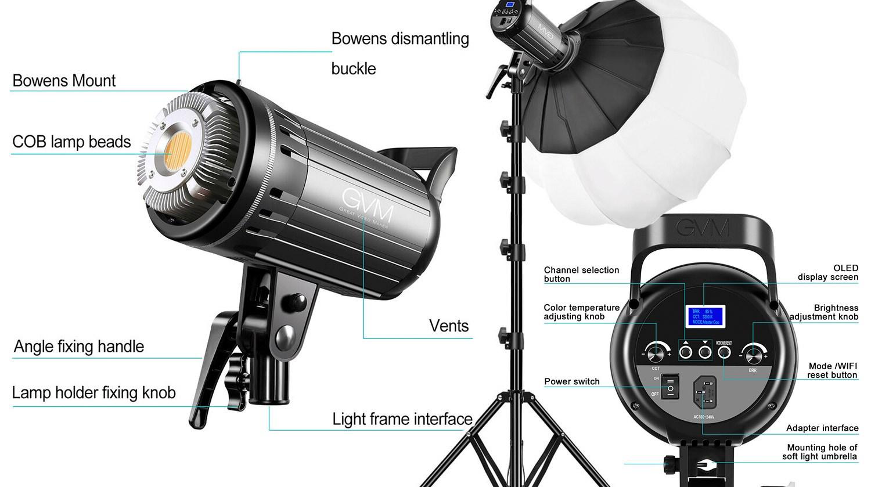 GVM G100W LED Bi-Color Video Light Review