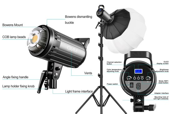 GVM G100W LED Bi-Color Video Light Review