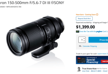 New Tamron 150-500mm FE reviews by ThePhotblographer, Julia Trotti and TheSlantedLens – sonyalpharumors