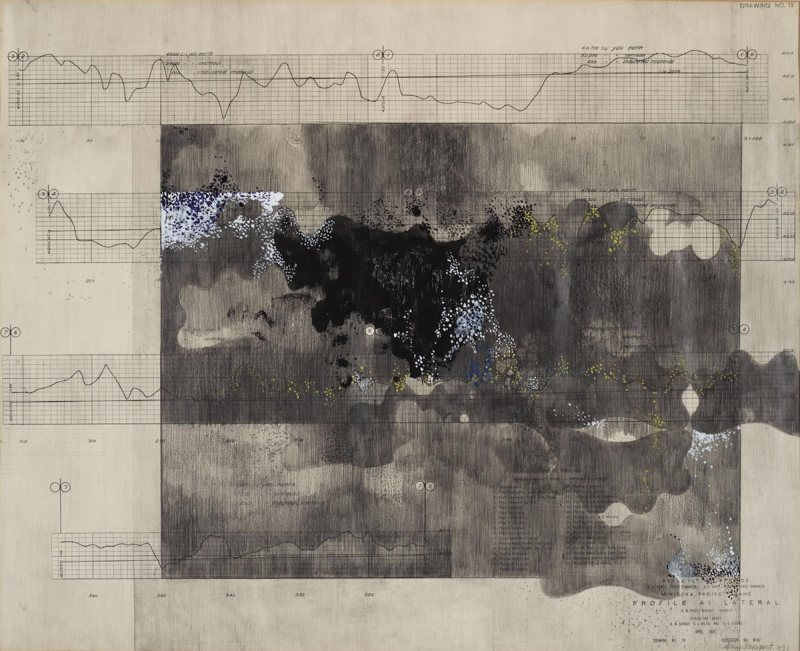 Sonya Rapoport, Survey Chart, Drawing