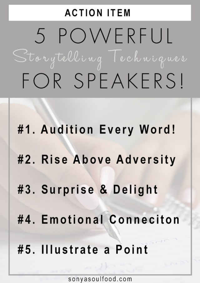 Powerful Storytelling Techniques for Speakers