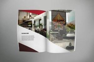 desain company profile perusahaan mebel