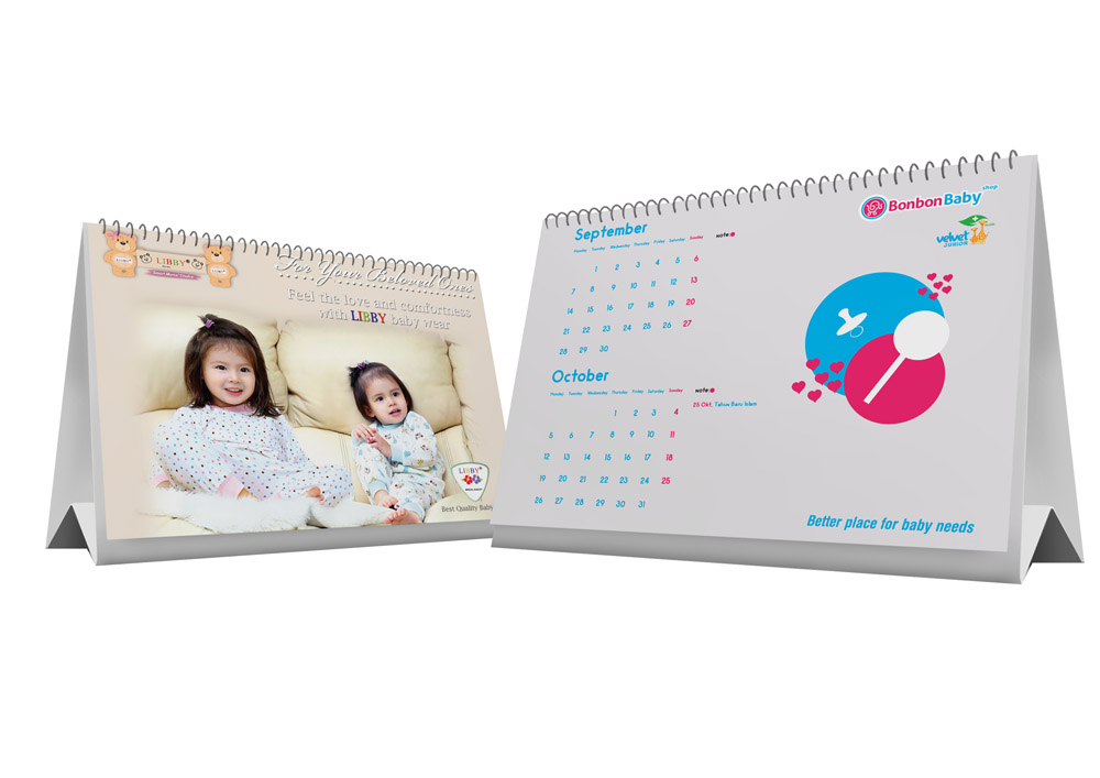 30+ Buat Desain Kalender