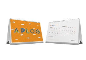 jasa desain kalender meja perusahaan AP logistic_1