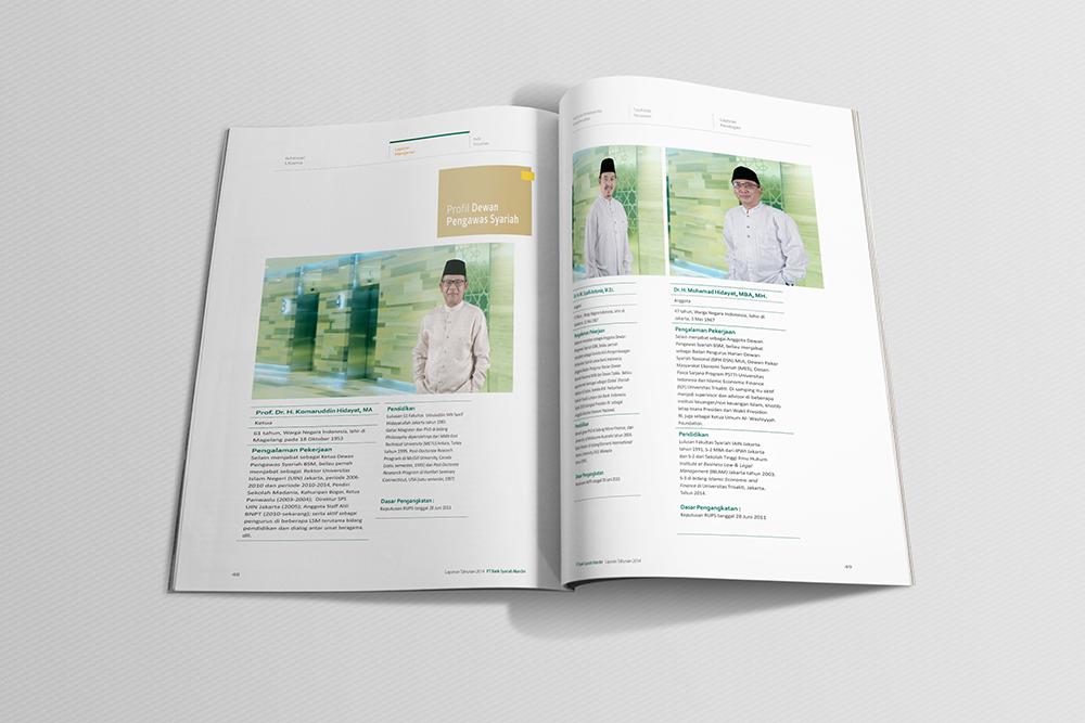Pembuatan Desain Annual Report Yayasan / Organisasi Non-Profit