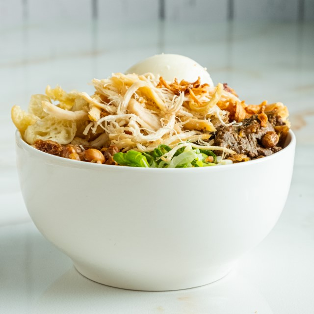 Jasa Foto Makanan Makassar - Bubur Ayam Priangan (1) (Custom)