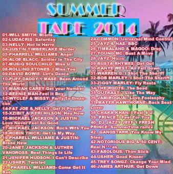 summer tape 2014