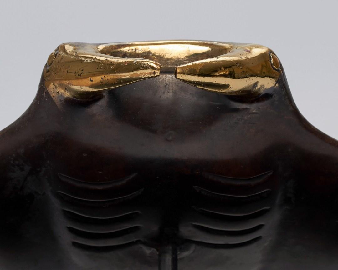 Medium Bronze Manta Ray