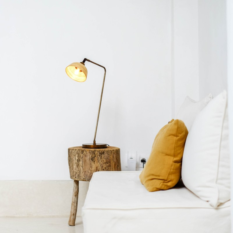 Sooka Bambusa Bamboo Design Lamp Shell Shape