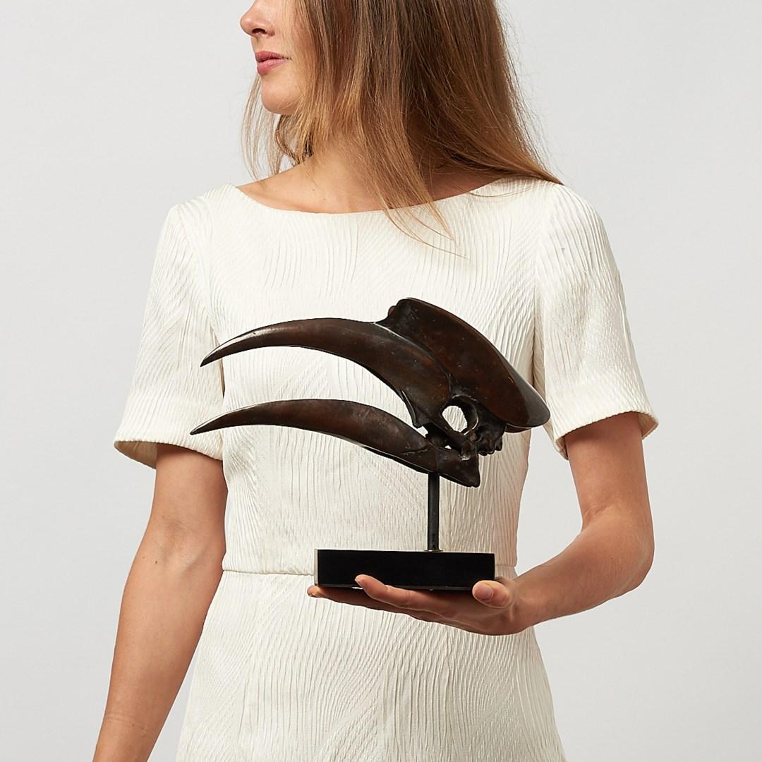 bronze great hornbill