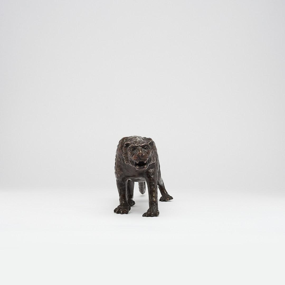 bronze javan leopard