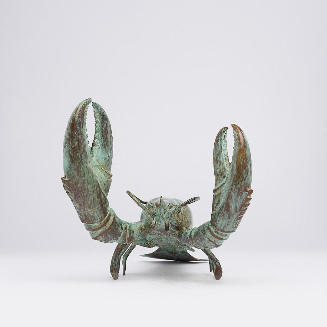 Patinated Lobster, Medium