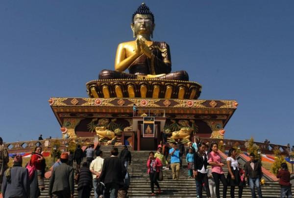 Buddha Statue in Kashmir