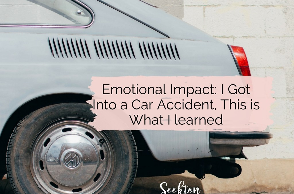 I Got Into a Car Accident, This is What I Learned