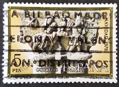Sello España 1978 Huida a Egipto 5 Pta