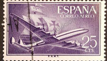 Sello De Colombia 1966 Avión Douglas Dc3 Filatelia Sellos Y Estampillas Coleccionismo