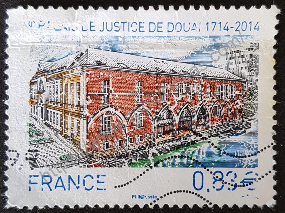 Sello Francia 2014 Palacio Douais