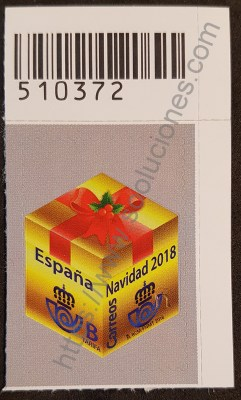 Estampilla España regalo navidad 2018