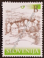 sello eslovenia 2000 castillo Zuzemberk