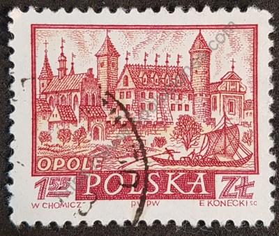 Estampilla Polonia 1960 Opole