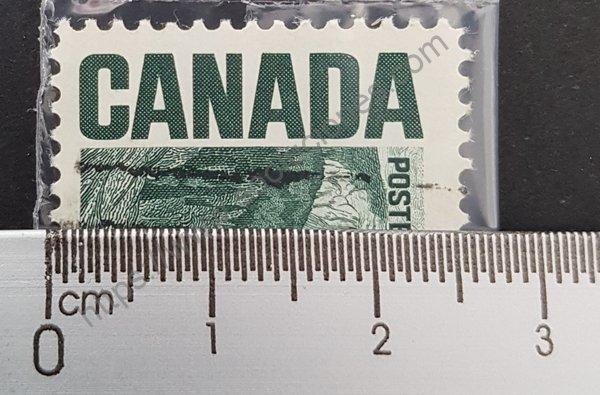 Tamaño del sello postal