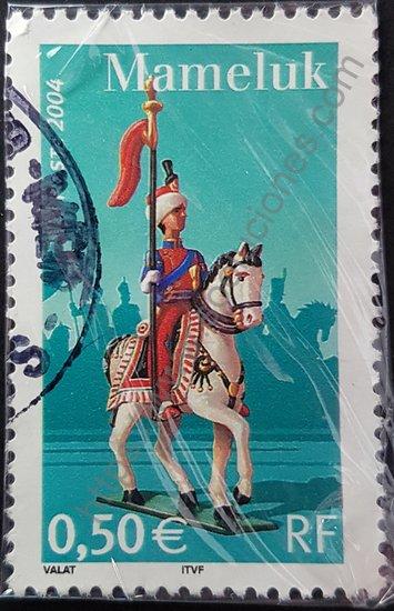 Mamelucos de Napoleón sello de Francia año 2004