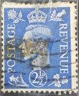 Rey Jorge VI de Reino Unido sello del año 1942