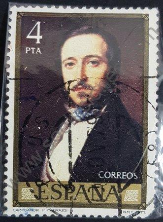 Sello España 1977 – Campoamor – 4 Pta