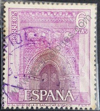 Sello de España 1967 6 pta – Iglesia Nuestra Señora de la O