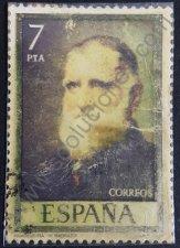 Retrato de Rivadeneyra - estampilla de España 1977