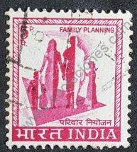 India sello de 1967 Planificación familiar